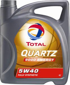 Total Quartz 9000 5W40 Huile Moteur, 5L