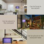 YUNLIGHTS lampe anti moustique et anti insectes UV intérieur et extérieur -7