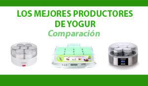 Comparación productores yogur