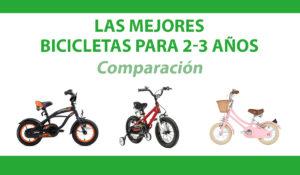 comparacion bicicletas 2-3 años