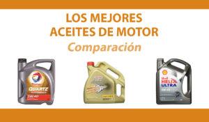comparacion mejores aceites motor